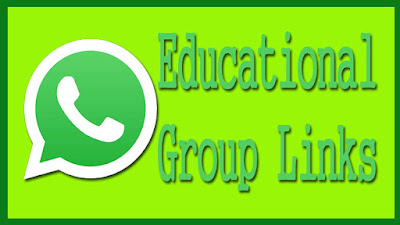 Join Education Whatsapp Group Links