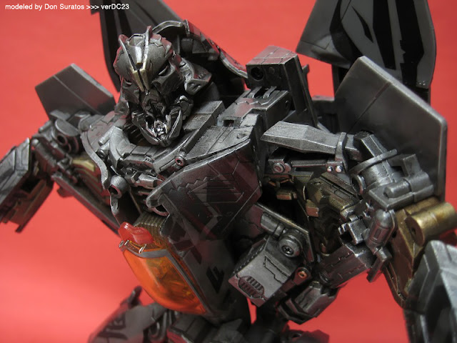Transformers toy repaint photo