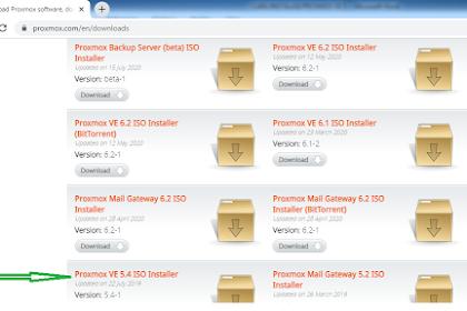 Toturial Lengkap Instalasi Proxmox VE 5.4