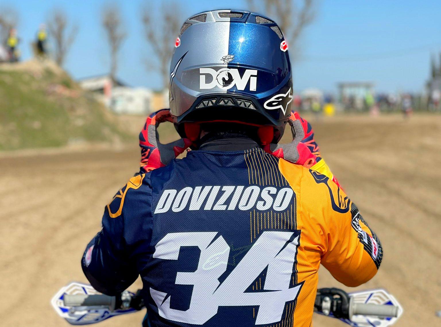 Dovizioso alami kecelakaan saat ikuti balapan Motocross