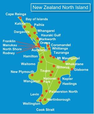 Map Of North Island New Zealand Towns.Live And Let Ride 23 New Zealand