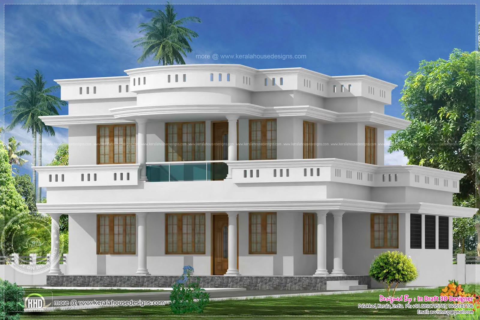 Affordable South Indian House Exterior Designs Design Plans Bedroom With Painting Ideas