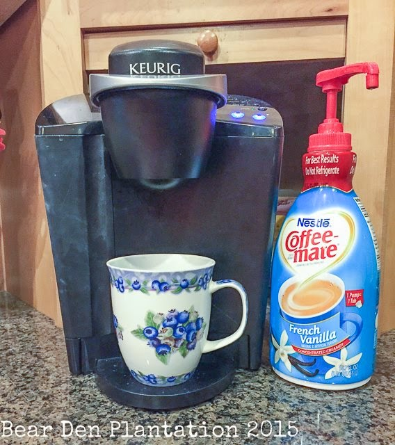 Keurig Coffee Maker and Creamer