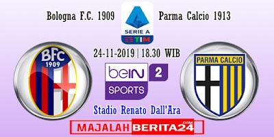 Prediksi Bologna vs Parma — 24 November 2019