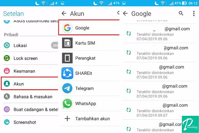 Cara Mengapus Akun Gmail Lewat Android Tidak Permanen