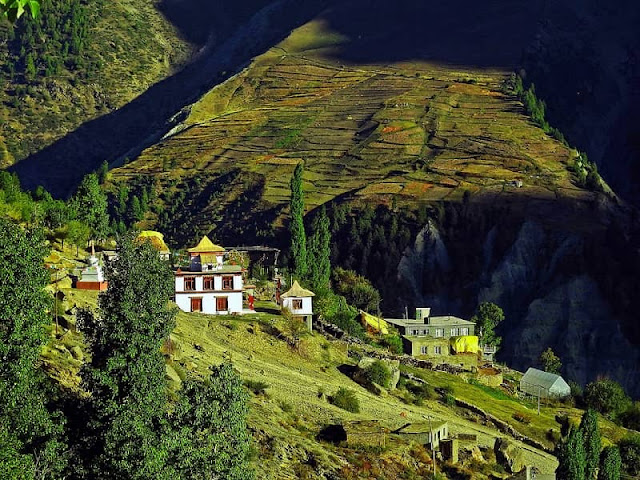 Lahaul & Spiti Tourist Attraction : Guru Ghantal Monastery