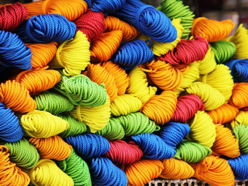 Download Assorted Color of Yarn HD wallpaper. Click Visit page Button for More Images.