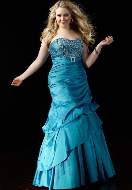 Whiteazalea Size Dresses Blue Prom Party