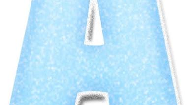 Abecedario de Olaf de frozen para imprimir