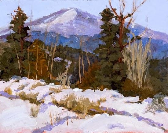 Daily Painters Of Colorado: Colorado Landscape Oil