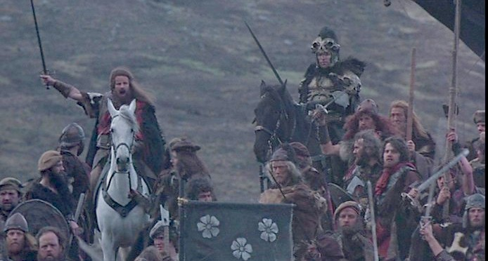 Image result for Highlander battle scene