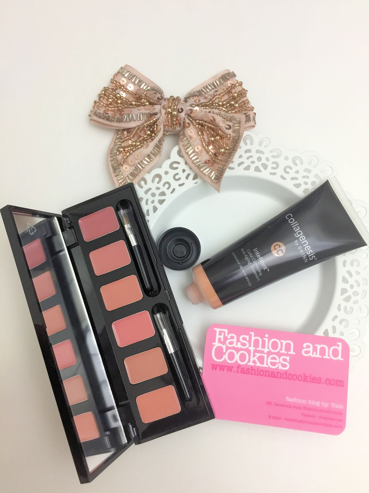SKINN Cosmetics makeup, Hollywood nude palette on HSE24 on Fashion and Cookies beauty blog, beauty blogger
