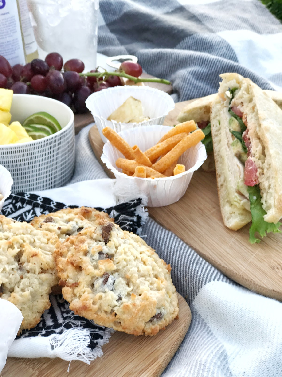 Late summer picnic for two