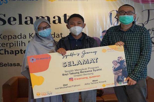 Pasangan Asal Purwakarta Mendapatkan Program Bayi Tabung Gratis dari Irwansyah dan Zaskia Sungkar