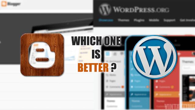أي منصة أختار للتدوين ؟ من الأفضل بلوجر أم ووردبريس