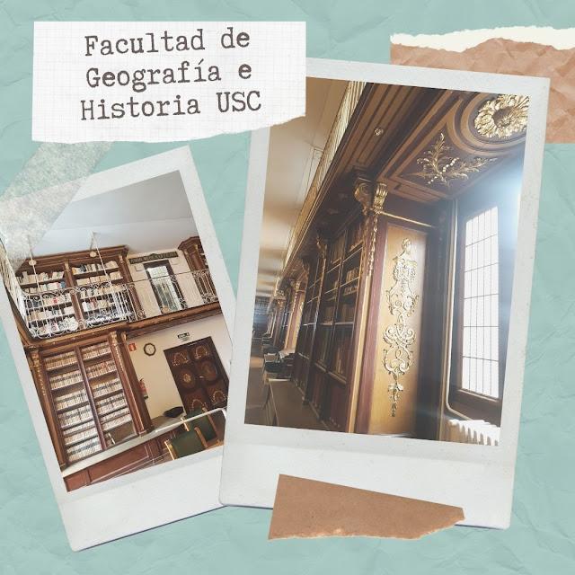 Biblioteca de la facultad de Geografía e Historia de la Universidad de Santiago (España)