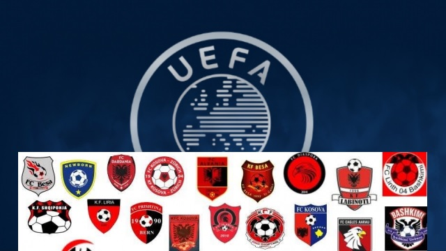 5 Albanian teams have been licensed by UEFA to participate in European competitions