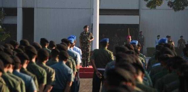 Panglima Hadi: Pengabdian Prajurit TNI Akan Membentuk Kepercayaan Rakyat