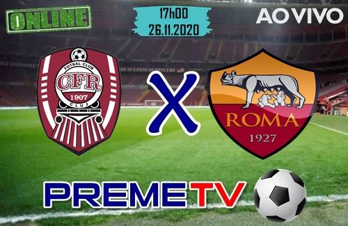 CFR Cluj x Roma Hoje Ao Vivo