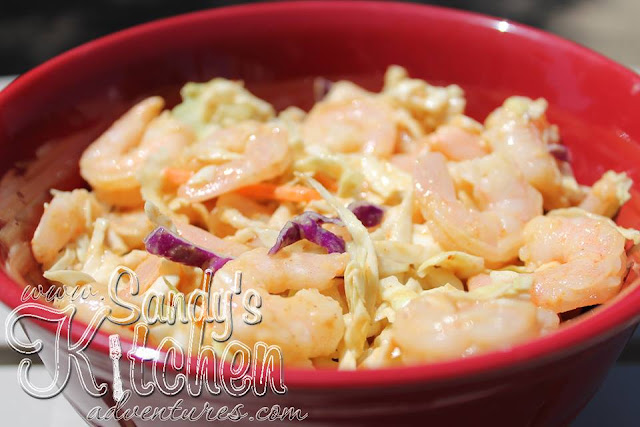 Shrimp Salad With Peanut Dressing Sandy 39 S Kitchen