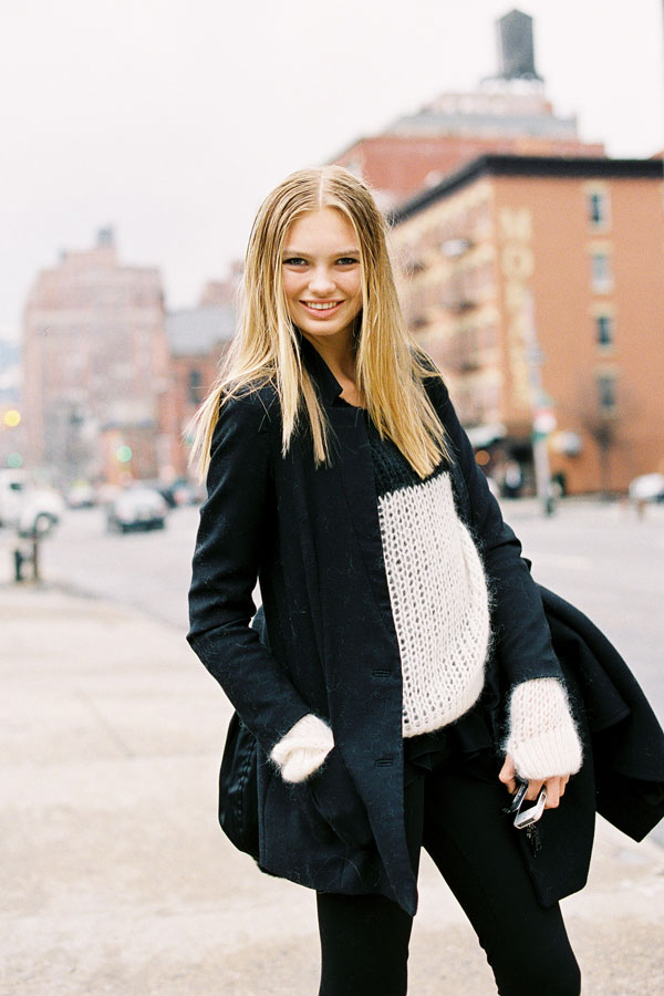 vanessa jackman new york fashion week aw 2012 2013 romee. Black Bedroom Furniture Sets. Home Design Ideas