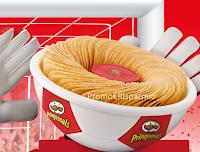 Logo Premio sicuro da Pringles: richiedi la Foot-Bowl