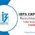 IBPS CRP RRB X Apply Online 2021