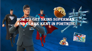 How to get the Superman and Clark Kent skin for free