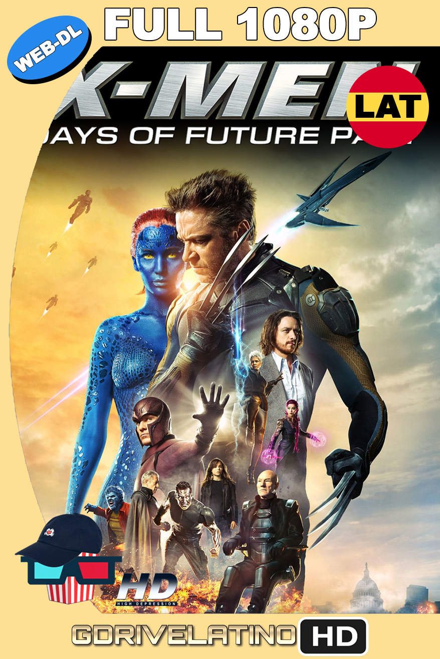 X-Men : Dias del Futuro Pasado (2014) WEB-DL OPEN MATTE 1080p THEATRICAL CUT Latino-Ingles MKV