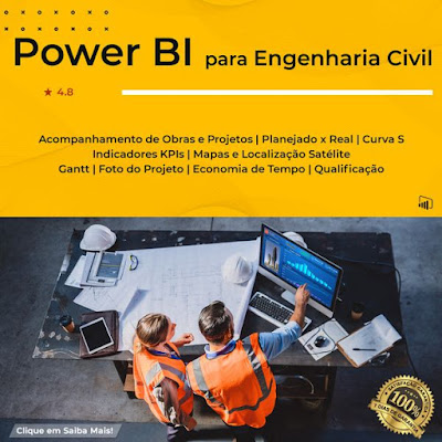 Curso Online POWER BI para Engenharia Civil
