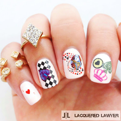 Lacquered Lawyer Nail Art Blog Sweet Suit