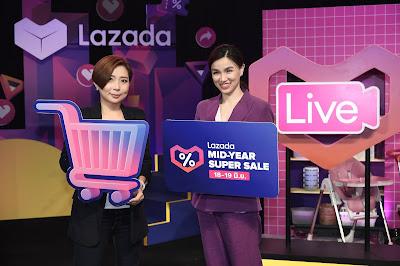 Lazada MID-YEAR SUPER LIVE กับกลยุทธ์ Shoppertainment  เพื่อการขยายฐานผู้บริโภคให้มากไปกว่าการซื้อขายสินค้า