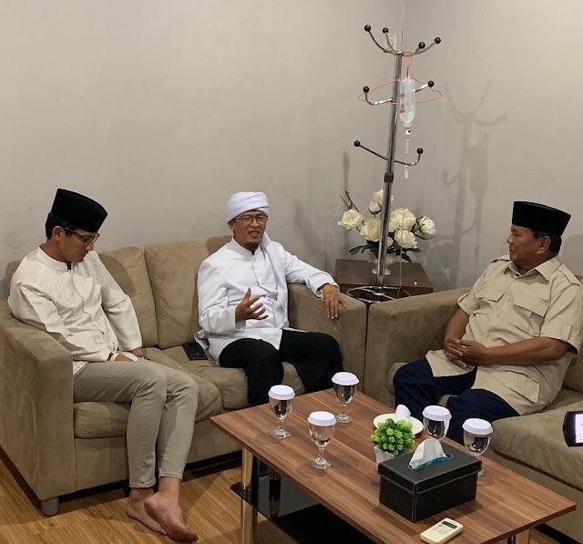 Aa Gym: Bismillah, Saya Memilih Prabowo-Sandi!