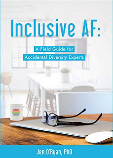 Inclusive AF - Non-fiction / Self Help book by Jen O' Ryan book promotion