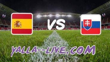 تفاصيل مباراة سلوفاكيا واسبانيا اليوم بتاريخ 23-06-2021 يورو 2020