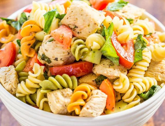Healthy Chicken Pasta Salad Recipe