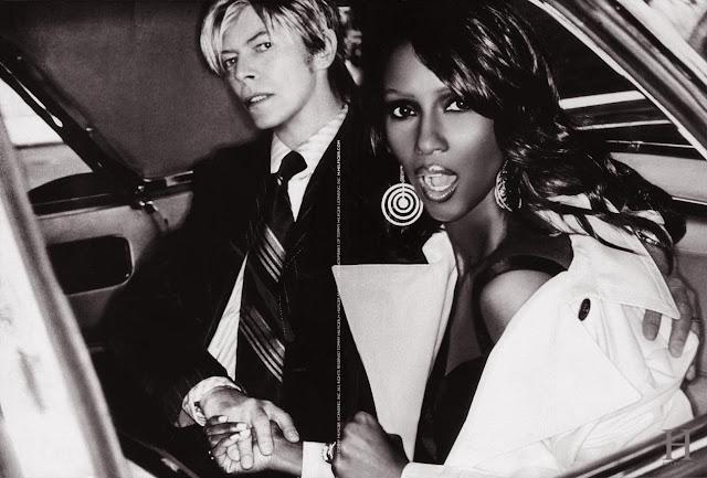 David Bowie Iman love blackstar