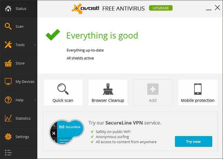 Avast Free Antivirus, download Avast