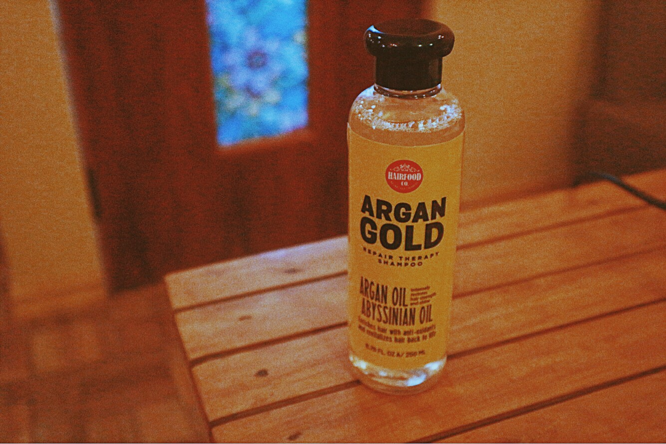 HairFood Co. Argan Gold Shampoo
