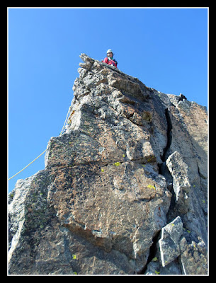 En la cima de la Jean Garnier