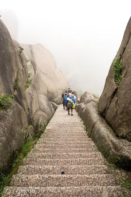 čína, cestování, info o číně, žluté hory, huangshan, posvátné hory