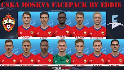 PES 2017 Facepack CSKA Moskow by Eddie