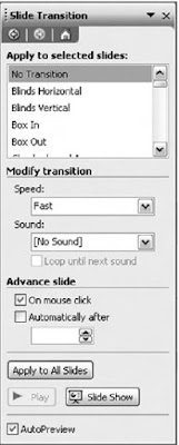 Kotak dialog Slide Transition
