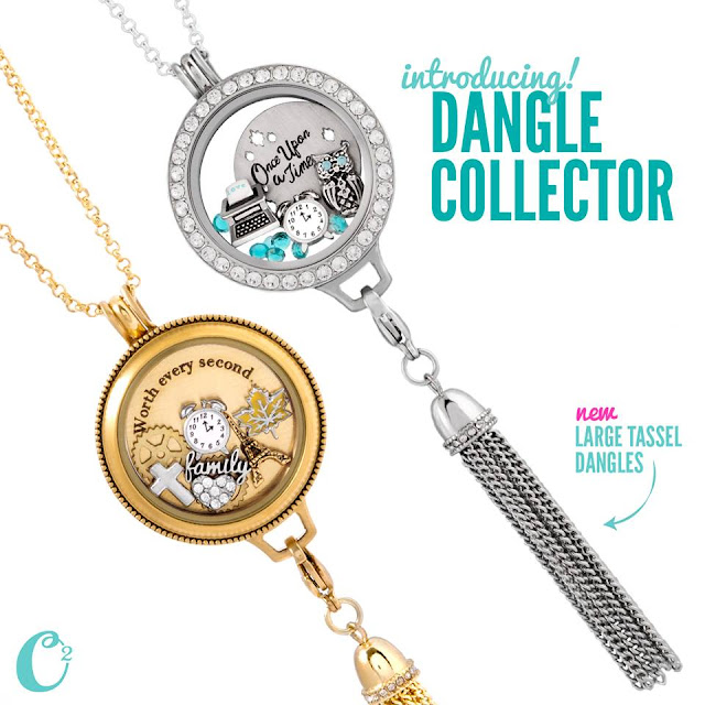 Origami Owl Living Locket Dangle Collectors available at StoriedCharms.origamiowl.com