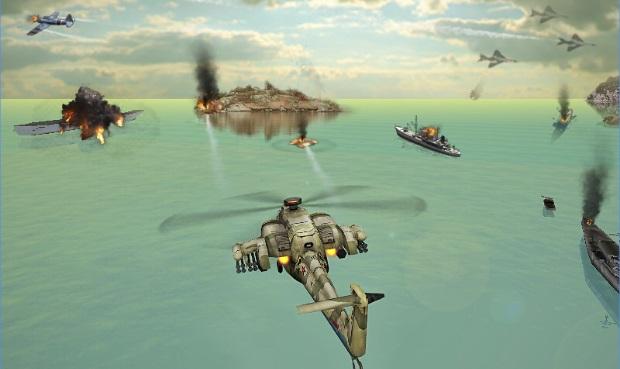 لعبة قتال الطائرات الحربية