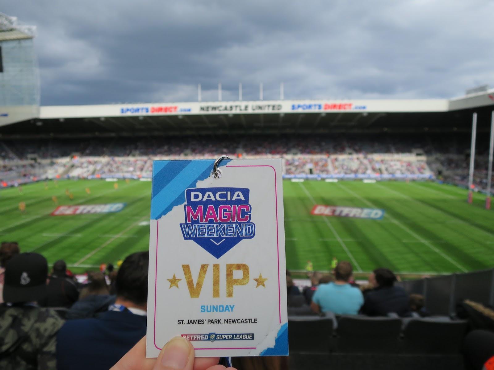 Dacia Magic Weekend – The VIP Treatment*