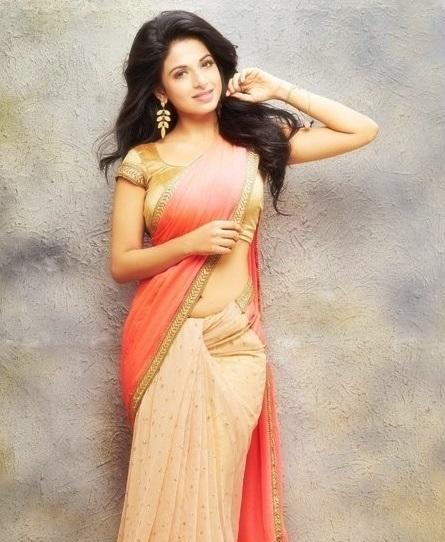 Iswarya menon saree photoshoot