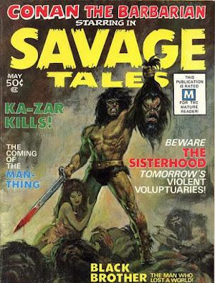 Savage Tales #1, Conan