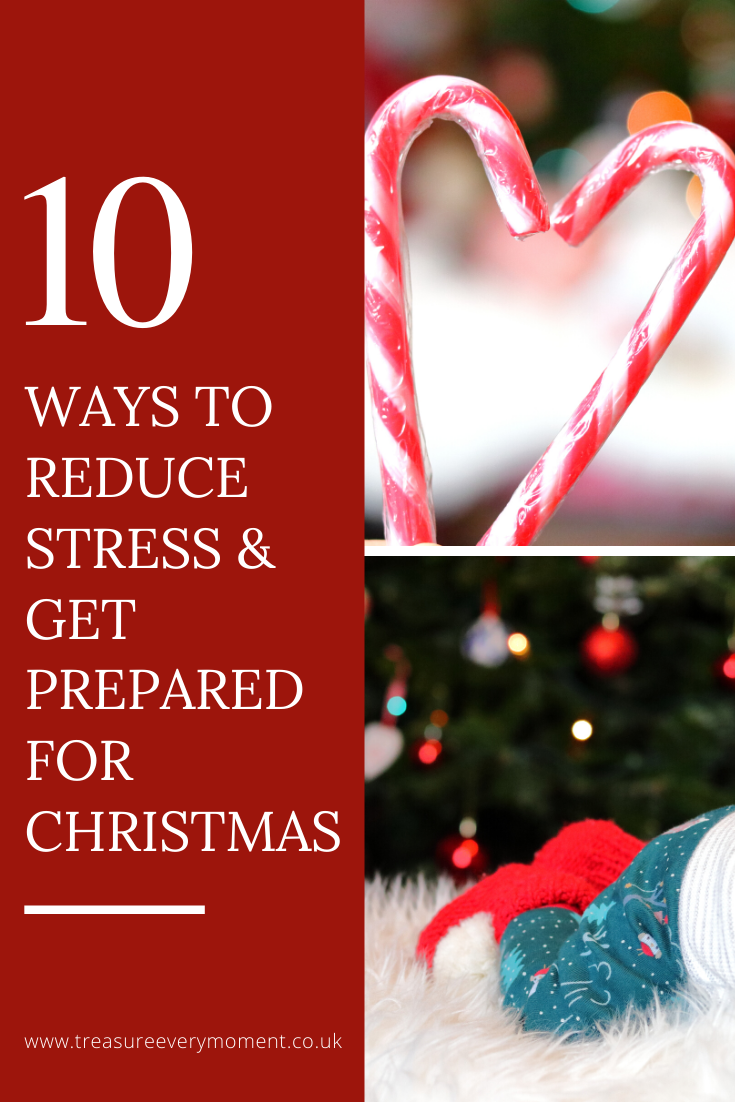 PARENTHOOD: 10 Ways to Reduce Stress and Get Prepared for Christmas