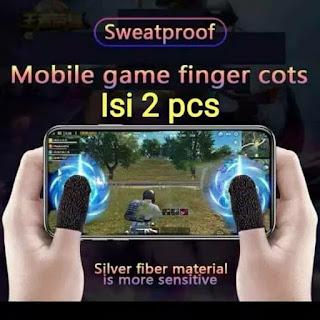 Finger Cots / Sarung Tangan Jempol 2pcs 1 Pasang Jari for Game PUBG ML